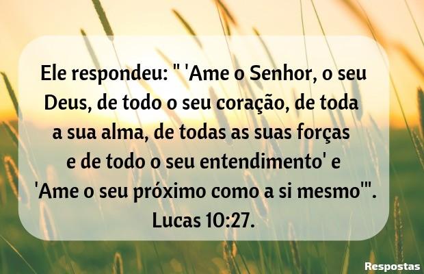 Ame o Senhor de todo coração