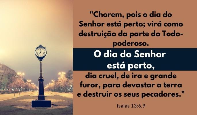 Isaías 13:6,9