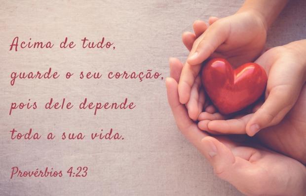 O seu coração é precioso, não dê acesso a ele para qualquer pessoa!