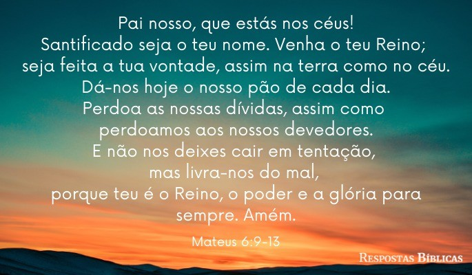 Imagem Pai Nosso
