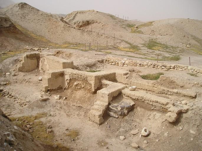 Vestígios da cidade de Jericó