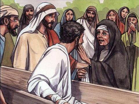 Jesus ressuscita o filho da viúva de Naim