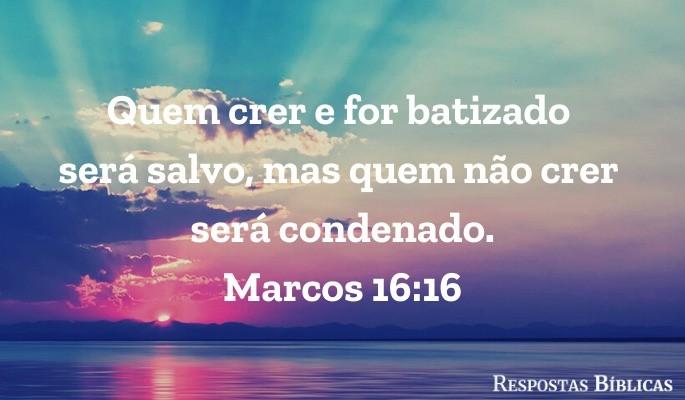Marcos 16:16