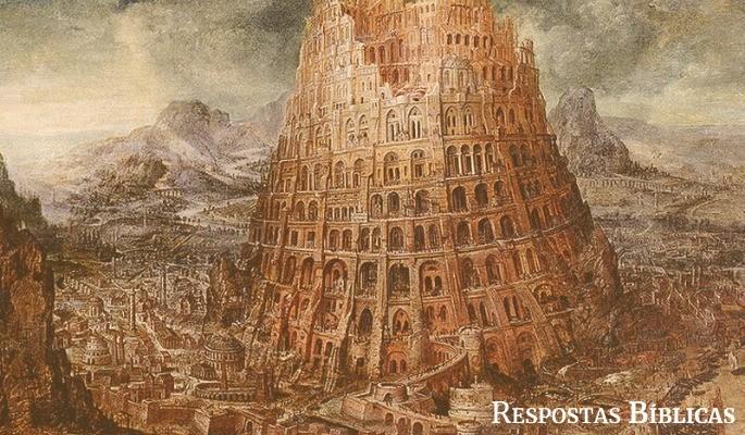 Pintura Torre de Babel