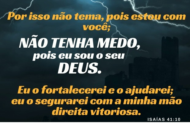 Não temas! Isaías 41:10