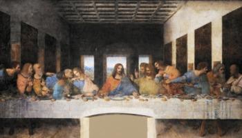 O quadro da Santa Ceia tem algum significado?