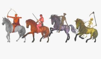 O que são os quatro cavaleiros do apocalipse?