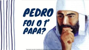 Pedro foi o primeiro Papa?