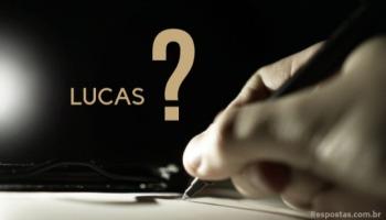 Quem foi Lucas na Bíblia?