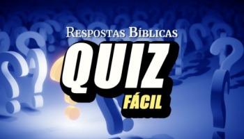 Quiz Bíblico: Perguntas fáceis