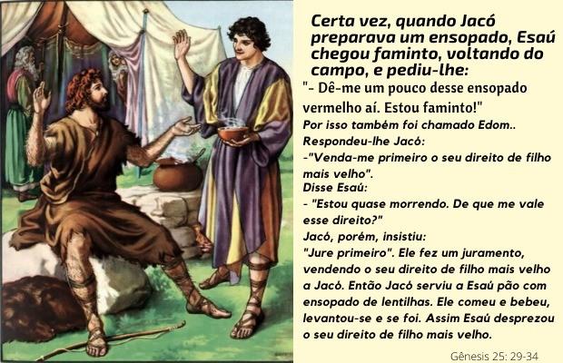 Genesis 25:29-34