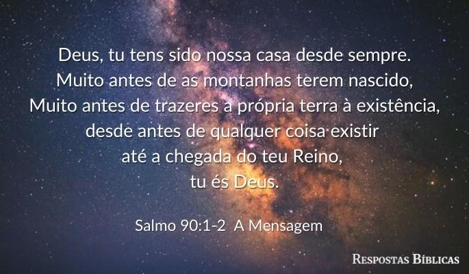 Salmo 90:1-2_a mensagem