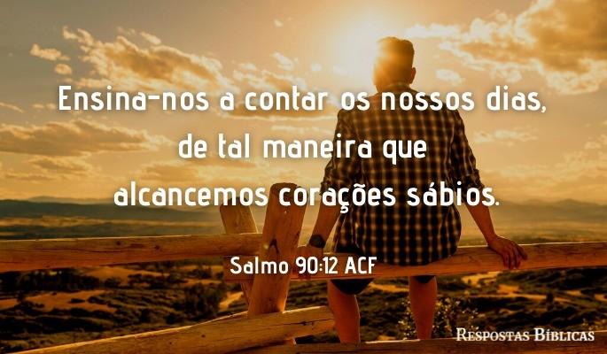 Salmo 90:12 ACF