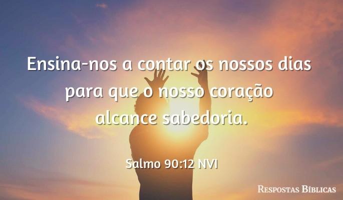Salmo 90:12 NVI