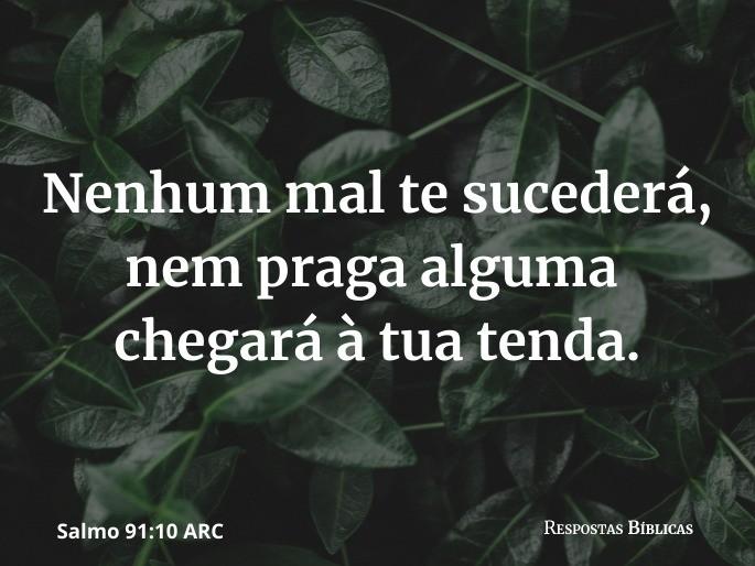 Salmo 91:10