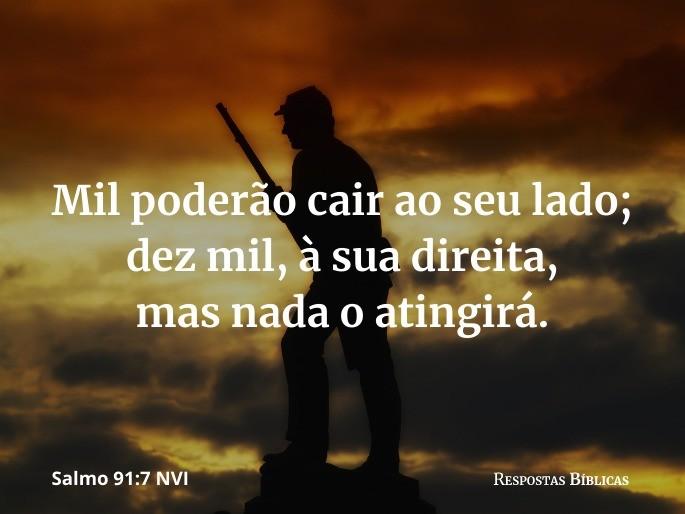 Salmo 91:7 NVI