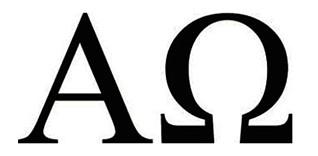 simbolo omega alfa