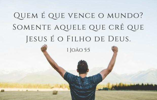 Quem tem fé alcança a vitória mesmo em circunstâncias difíceis